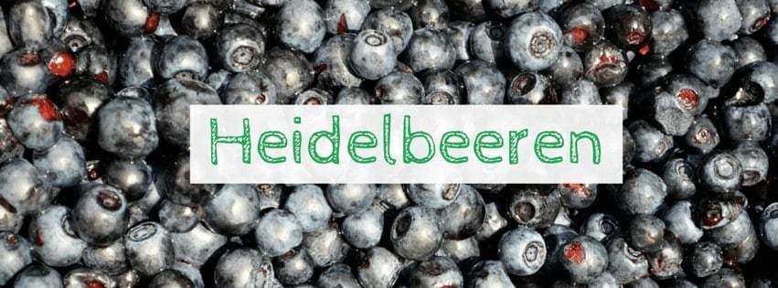 Superfood Heidelbeere